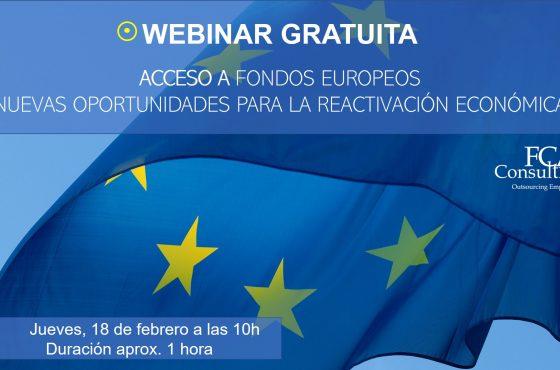 fondos europeos webinar