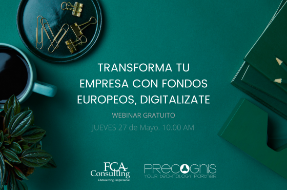 Transforma tu empresa con fondos europeos, digitalizate